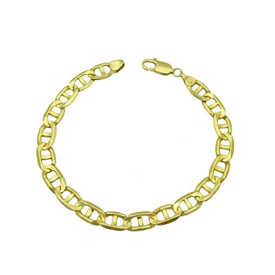 BRACELET GUCCI EN OR JAUNE 10K 3 MM